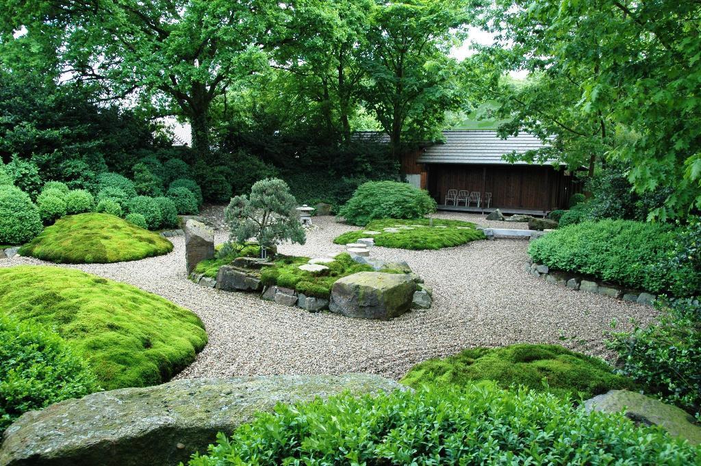 Japanischer Garten In Steinfeld Muhlen