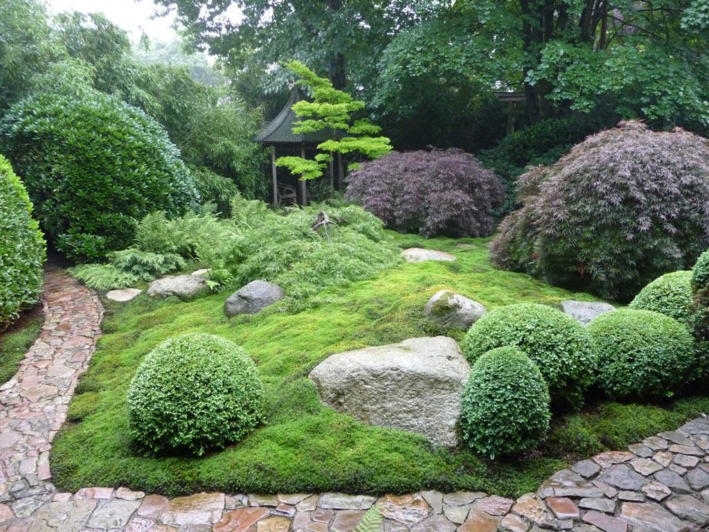 Japanischer garten in steinfeld m hlen - Japanischer kleingarten ...